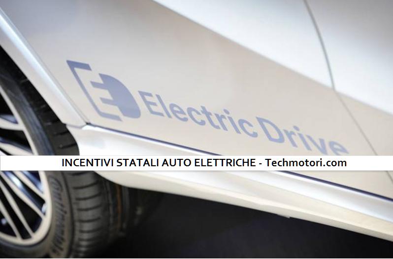 Incentivi statali auto elettriche, ecco cosa c'è da sapere