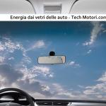 Energia dai vetri delle auto