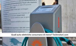 Auto elettriche, quali consumano meno?