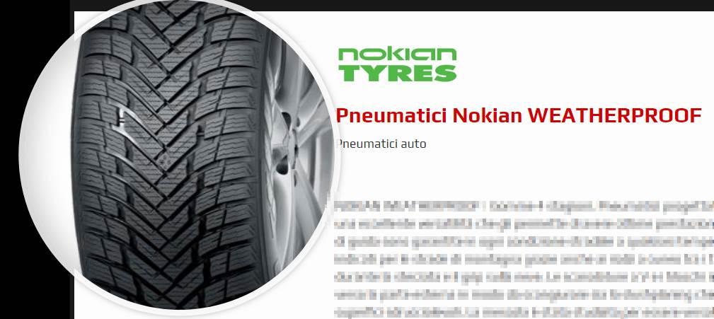 Nokian WEATHERPROOF