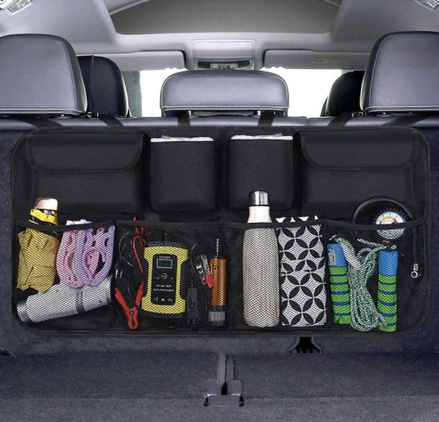 Organizer Auto, URAQT Protezione Sedile Auto Bambini Impermeabile, con Multi-Tas